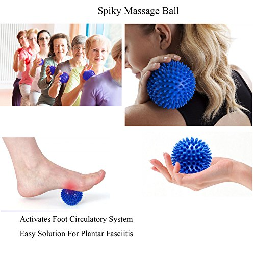 Bunion Corrector Pads Kit Bunion Protector Toe Spreader Bunion Relief Socks Sleeves Toe Stretcher & Separator,Foot Massage Ball for Tailors Bunion,Hallux Valgus,Overlapping Toes,Big Toe Joint by Carikaien (Image #3)