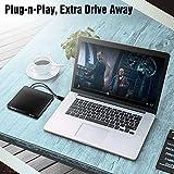 BENGOO External CD DVD Drive, USB 3.0 Ultra Slim