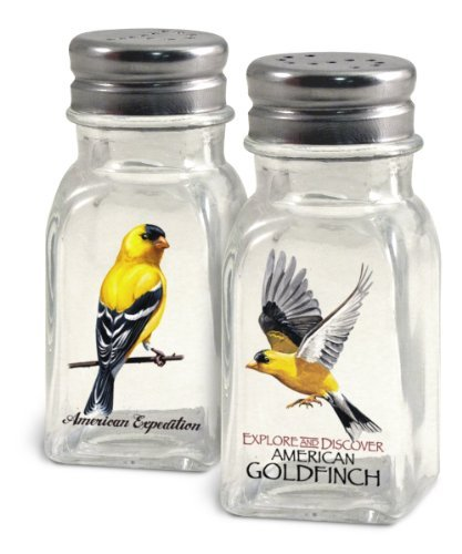 American Expedition Glass Salt and Pepper Shaker Sets (Goldfinch) by American Expedition