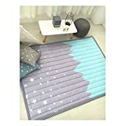 IHEARTYOU Starry sky Crawling Mat Thicken Washable Play Mat Non-slip Kids Playmats Picnic Mat Baby Rug