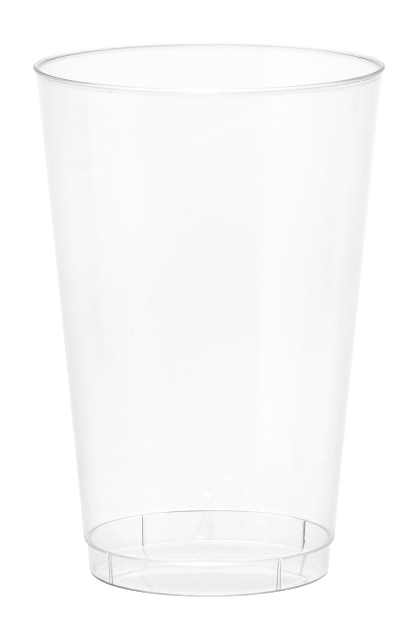 Embellish Crystal Clear Hard Plastic 14oz Party Tumblers//Cups 40 Count LSE-T14