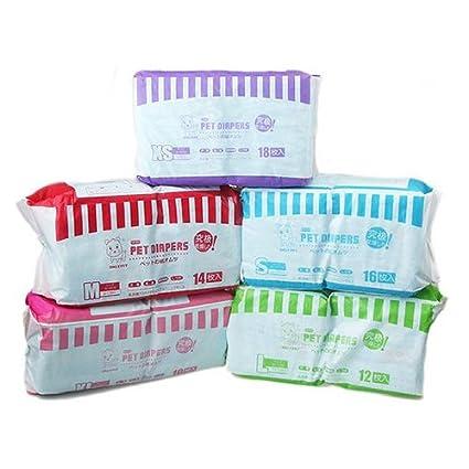 Pecute®1 x Bolsa Ultra Absorbentes Pañales Desechables de usar y tirar para perros Adultos