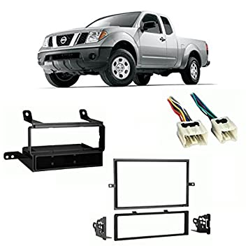 51LH8t7ZbZL._SY355_ amazon com fits nissan frontier 2005 2008 multi din harness radio 2004 Ford Explorer Stereo Wire Harness at gsmportal.co