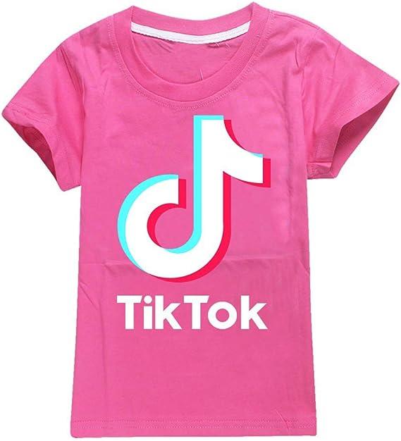 colore: Mucially Dgfstm TIK Tok non ufficiale per ragazzi e ragazze Maglietta per bambini