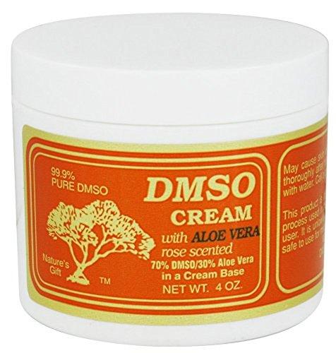 DMSO CREAM,ROSE 70/30 ALOE, 4 OZ