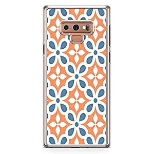 Loud Universe Classic Tile Pattern Samsung Note 9 Case Classical Arabic Style Architecture Samsung Note 9 Cover with Transparent Edges