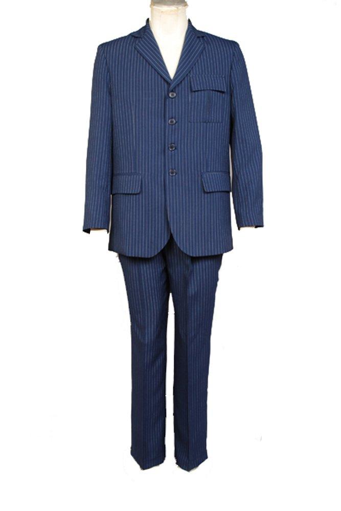Who Will be Doctor Dr Blau Suit Blazer Pants Cosplay Kostüm Herren XXXL Blau Ma fertigung