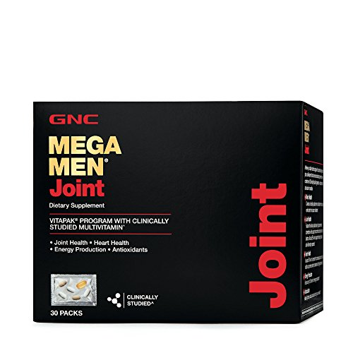 GNC Mega Men Joint Vitapak Program, 30 Packets