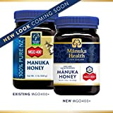 Manuka Health - MGO 400+ Manuka Honey, 100% Pure New Zealand Honey, 1.1 lbs