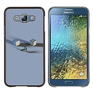 TECHCASE---Cubierta de la caja de protección para la piel dura ** Samsung Galaxy E7 E700 ** --M1necraft