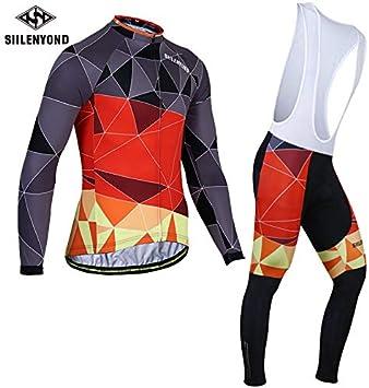 Maillot Ciclismo Hombre+Culotte Ciclismo Culote Bicicleta para ...