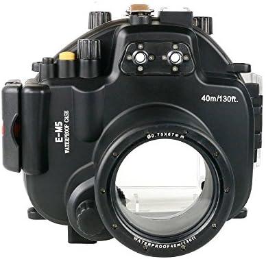 Polaroid Carcasa submarina sumergible apta para buceo SLR para la Cámara Olympus EM5 con un 12-50mm objetivo
