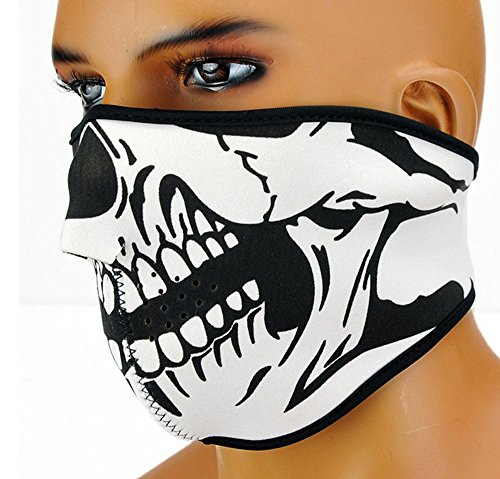 [1 PCS Navy Seal The Hell Demons Skeleton Ghost Skull Face Dark CS Cosplay Motocycle] (Do It Yourself Costumes 2016)
