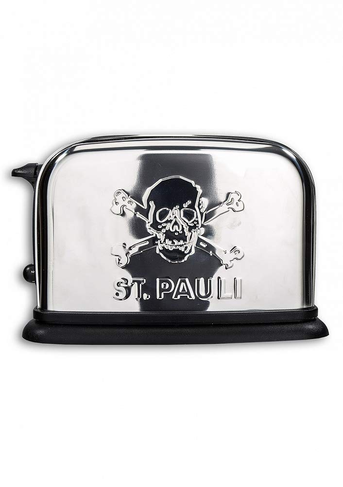 FC St Pauli Toaster ** Edelstahl **