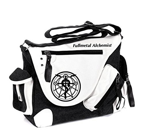 YOYOSHome Anime Fullmetal Alchemist Cosplay Handbag Cross-body Bag Messenger Bag Tote Bag Shoulder Bag - Metal Alchemist Full Messenger Bag