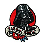 iron on patch star wars - Disney Star Wars Vader Love Dark Side Patch Officially Licensed Iron On Applique