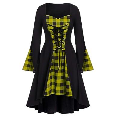 OPAKY Vestido Victoriano Mujer Vestido Largo Victoria ...