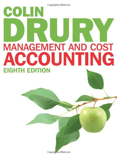 - Management and Cost Accounting