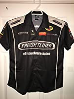 Ladies Large Spencer Massey FREIGHTLINER MOPAR NHRA Don Schumacher Pit Crew Shirt Drag Racing HEMI