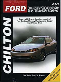 Haynes ford contour and mercury mystique 95 00 manual ford contour mystique and cougar 1995 99 chilton total car care series fandeluxe Images