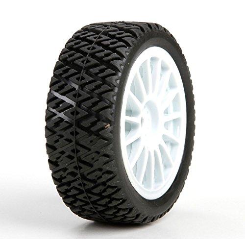 (Losi FF/RR Gravel Spec Tire,(2) Mounted: Mini Rally, LOS41006)