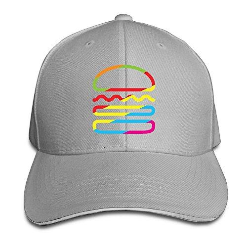 MaNeg Hamburger LGBT Sandwich Peaked Hat & - Mar Costa Orlando Del