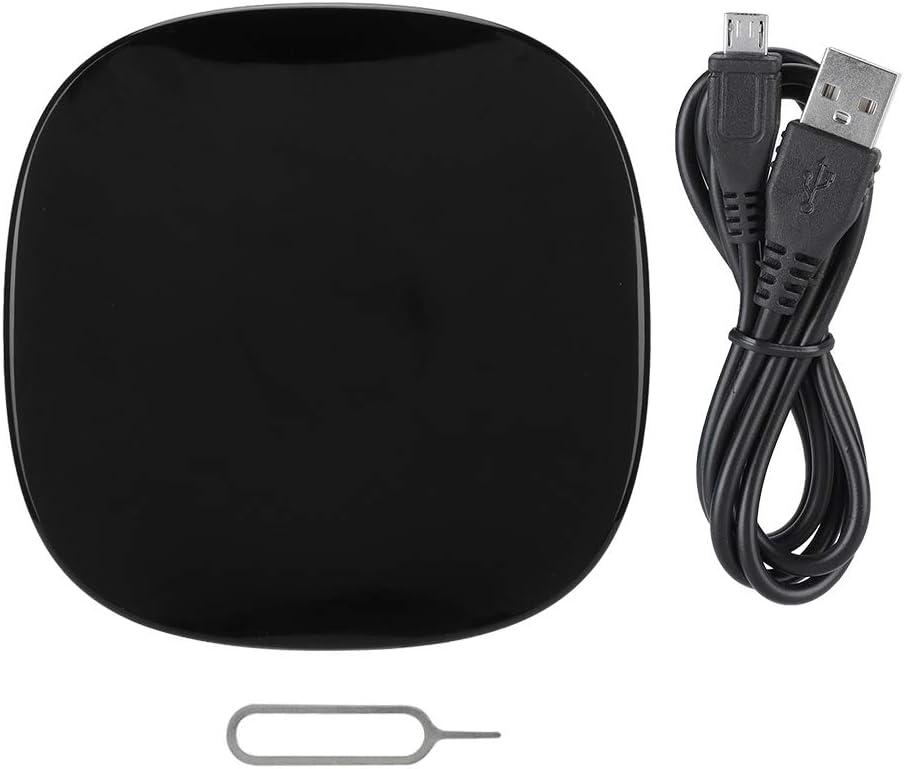 Kafuty Control Remoto Infrarrojo Inteligente Receptor de WiFi Soporte Universal de Control de Aplicaciones 38 K Código de Aprendizaje para TV/Ventilador de Techo Compatible Alexa/Asistente de Google