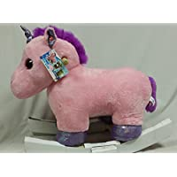 Unicorn Animal Plush Rocker Chair with Melody