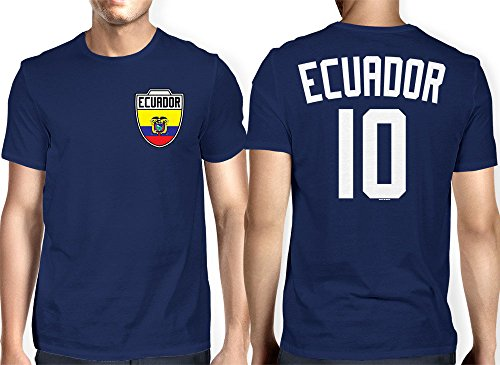 Mens Ecuador Ecuadorian Football T shirt