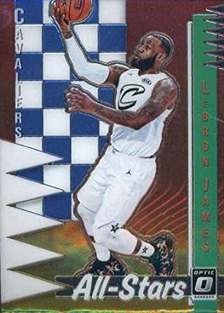 e225b6a5466 2018-19 Donruss Optic All-Stars  1 LeBron James Cleveland Cavaliers  Official NBA