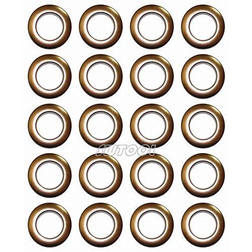 Selling Wonderful 1-9/16-Inch Inner Diameter Plastic Curtain Grommets 20-Pack (Light ()