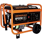 Generac Power Systems, Inc. 3250W Port Generator 5724 Generators (Discontinued by Manufacturer)