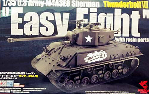 ASU35040 1:35 Asuka US Army M4A3E8 Sherman Thunderbolt for sale  Delivered anywhere in USA