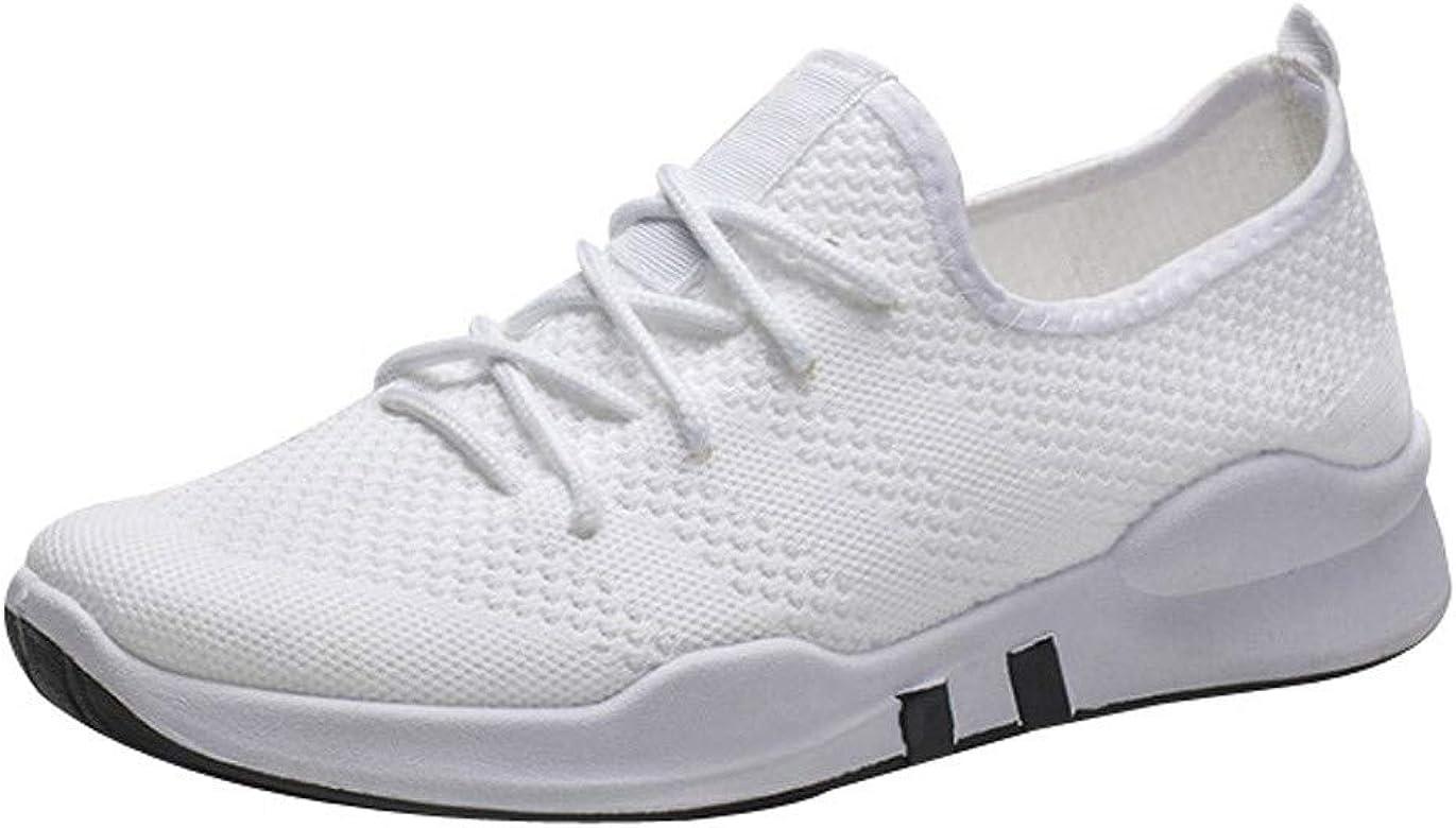 Zapatos Casual Running para Hombres, Tefamore Zapatillas de Running Aire Libre y Deporte Transpirables Gimnasio Antideslizante Correr Sneakers: Amazon.es: Zapatos y complementos