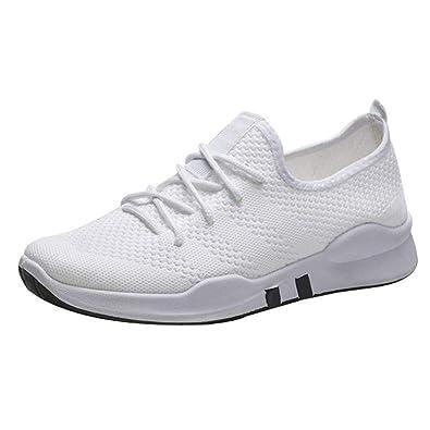 new arrival 2f36a 1ed6f Chaussures de Sport Respirantes Homme, Baskets Mode Homme Madworld  Chaussures de Course Snekers Poids léger