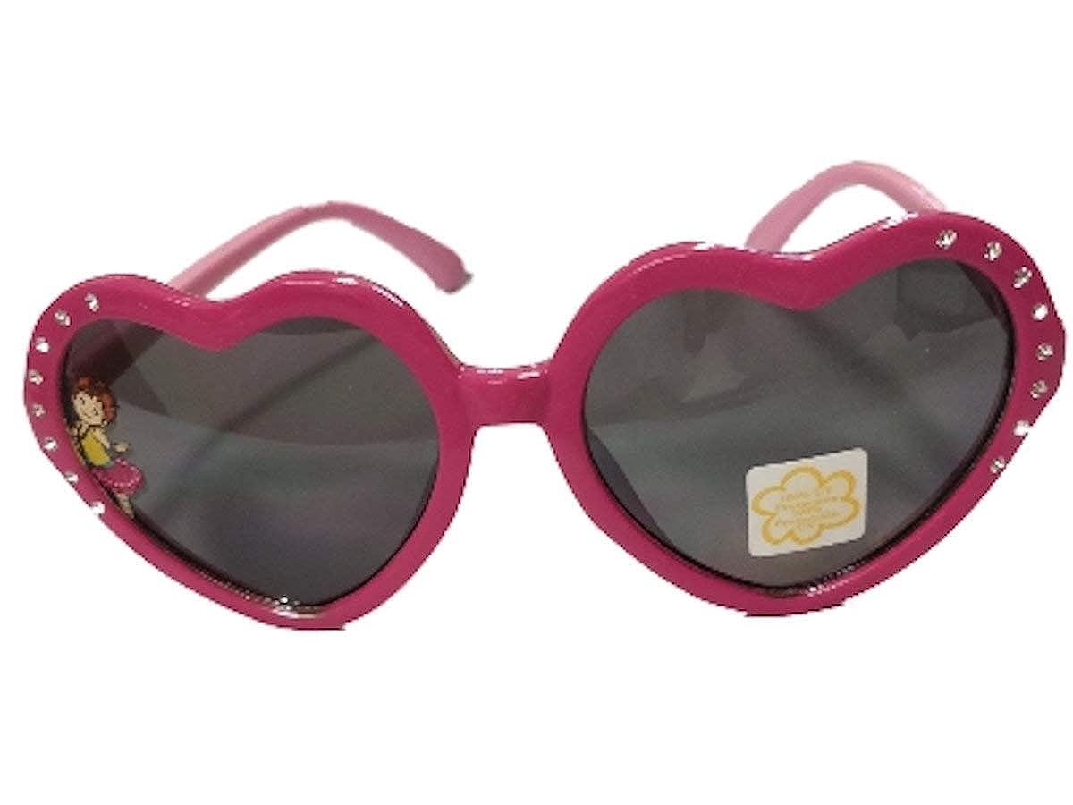 Fancy Nancy Girls Heart Shaped Sunglasses