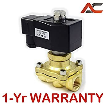 12-Volt 4-Way Solenoid Valve 3//8 With All Fittings