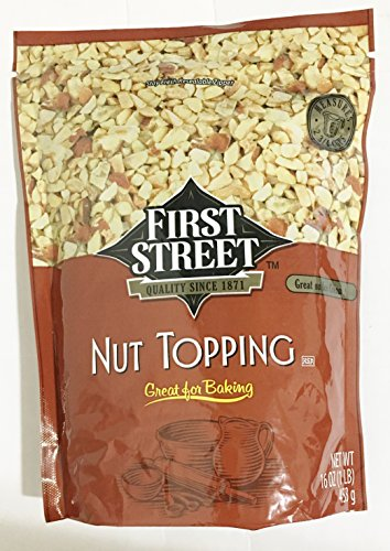 Chopped Nuts (16oz First Street Nut Topping Great for Baking & Ice Cream (One Bag))