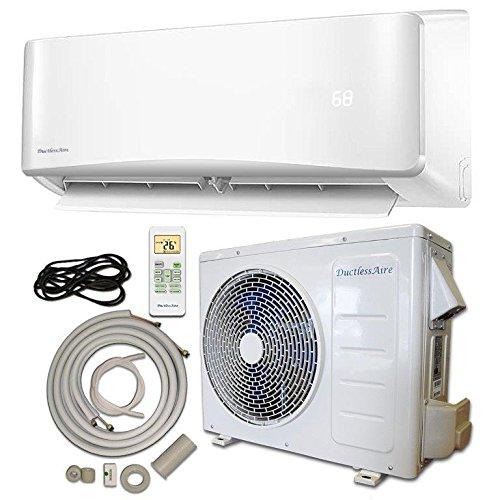 Energy star 12 000 btu 1 ton ductless mini split air for 12000 btu 220v window air conditioner