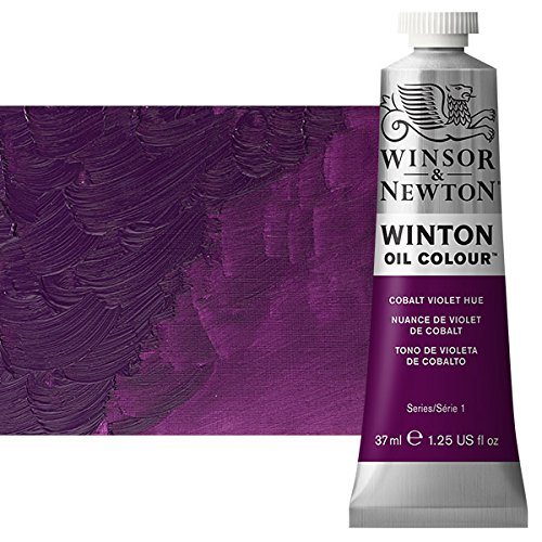 - Winsor & Newton Winton Oil Colour Paint, 37ml tube, Cobalt Violet Hue