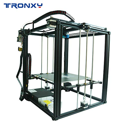 TRONXY X5SA 3D Printer Rapid Assembly DIY Kit Auto Leveling Filament Sensor  Resume Print Cube Full Metal Square with 3 5 inch Touch Screen Large