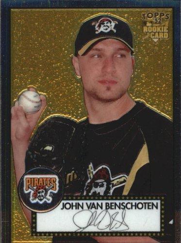 2006 Topps Chrome Card (2006 Topps '52 Chrome Baseball Card #81 John Van Benschoten Near Mint/Mint)