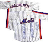 1969 1986 ny Mets World Series Team Signed Jersey 41 Auto PSA carter seaver