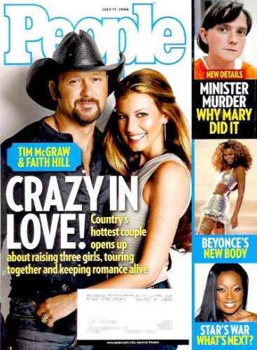 People Magazine - July 17, 2006 - Tim McGraw and Faith Hill Cover (Volume 66 Number 3)