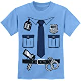 Threadrock Big Boys Future Police Officer Youth T-Shirt