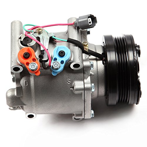 ECCPP A/C Compressor with clutch CO 3057AC fit for 1994-2001 Honda Civic del Sol CR-V