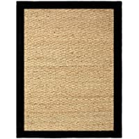 Chesapeake Seagrass 24-Inch by 36-Inch Area Rug, Black