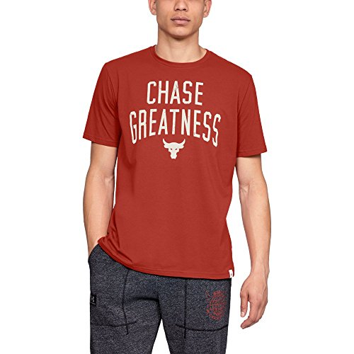 Under Armour Ua X Project Rock Chase Greatness Xl Radiant Red