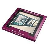 "Art Vinyl AVPD01 Record Display Frame, Displays Albums Covers, Black, 12"""
