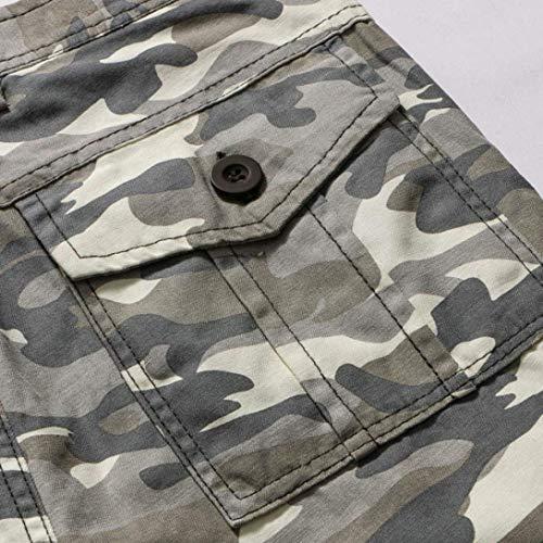 Hommes Fashion Pantalons D'été Grau Nouveaux Camouflage De Fête Coréenne 2018 Version Vêtements Minces Lannister Chatoyants ZIdqwd